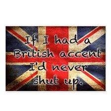 British Accent Postcards (Package of 8)