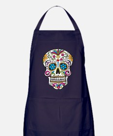 Sugar Skull Apron (dark)
