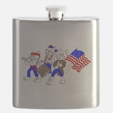 Spirit of '76 CATS Flask