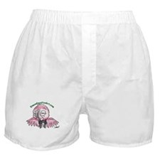 well dressed parrot Boxer Shorts