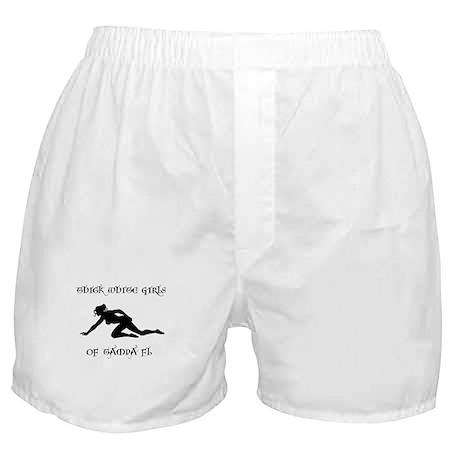 THICK WHITE GIRLS OF TAMPA FL Boxer Shorts