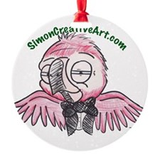 well dressed parrot Ornament
