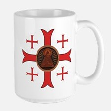 Seal of the Knights of King Solomon Large Mug