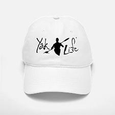 YakLife Logo Black Baseball Baseball Cap