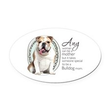 specialmom.png Oval Car Magnet