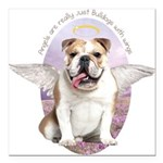 angelwithwings.png Square Car Magnet 3