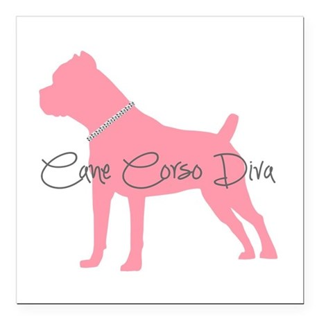 "diamonddiva.png Square Car Magnet 3"" x 3"""