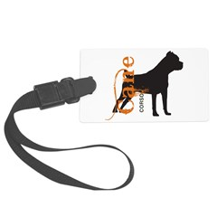 grungesilhouette.png Luggage Tag