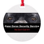 security.png Round Ornament