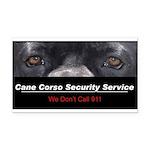 security.png Rectangle Car Magnet