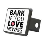 BARK.png Rectangular Hitch Cover