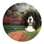 godmadedogs.png Round Car Magnet