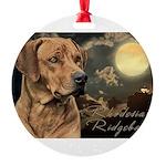 portrait5.png Round Ornament