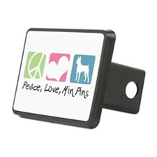 peacedogs.png Rectangular Hitch Cover