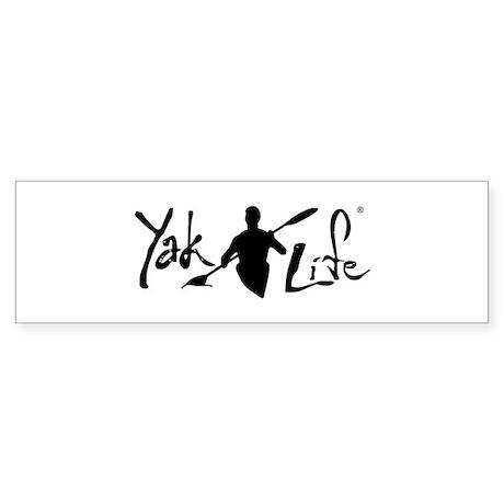 YakLife Logo Sticker (Bumper)