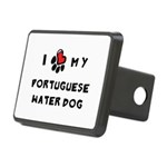 pawheart.png Rectangular Hitch Cover
