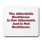 Afordable Healthcare 2 Mousepad
