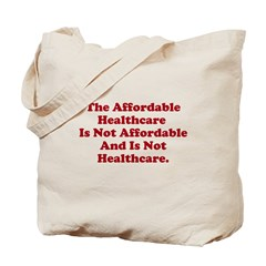 Afordable Healthcare 2 Tote Bag