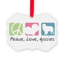 peacedogs.png Picture Ornament