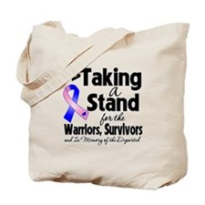 Stand Male Breast Cancer Tote Bag