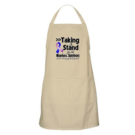 Stand Male Breast Cancer Apron