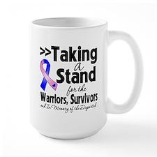 Stand Male Breast Cancer Mug