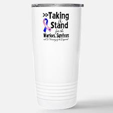 Stand Male Breast Cancer Travel Mug