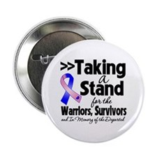 """Stand Male Breast Cancer 2.25"""" Button"""