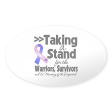 Stand Male Breast Cancer Decal