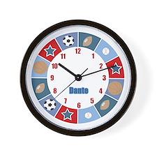 Dante Sports All Stars Wall Clock