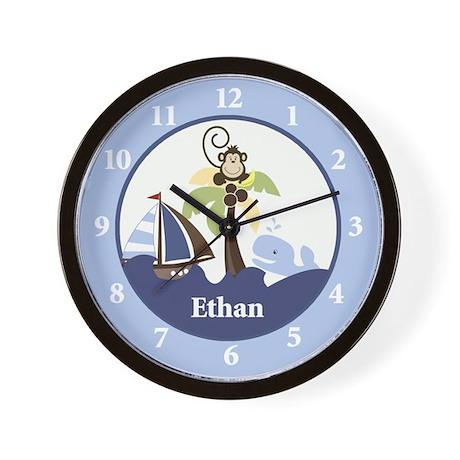 Ahoy Mate Wall Clock - Ethan
