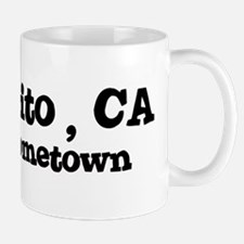 Montecito - hometown Small Small Mug