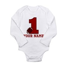 1st Birthday Football Baby Outfits