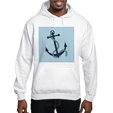 Blue Anchor Hoodie