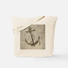 Vintage Anchor Tote Bag