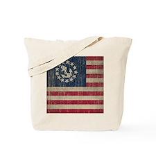 Vintage America Yacht Flag Tote Bag