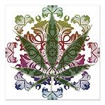 Weeds emblem copy.png Square Car Magnet 3