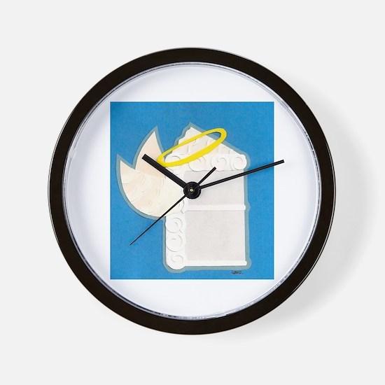 Angel Food Cake Wall Clock