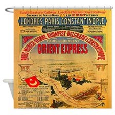 Orient Express Shower Curtain