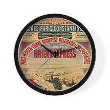 Orient Express Wall Clock