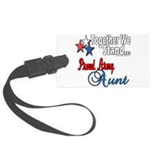 Proud Army Aunt Luggage Tag