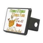 Tequila Birthday 43.png Rectangular Hitch Cover