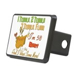 Tequila Birthday 58.png Rectangular Hitch Cover