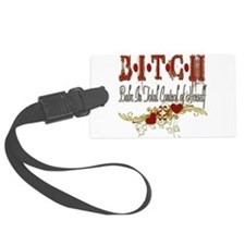 BITCHgrunge copy.png Luggage Tag