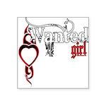 bleedingWantedGirl copy.png Square Sticker 3