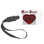 GreatestFracturedGodmother.png Large Luggage Tag
