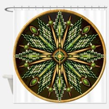 Native American Rosette 11 Shower Curtain
