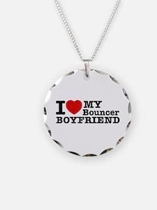 I Love My Bouncer Boyfriend Necklace