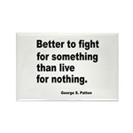 Fight for Something Rectangle Magnet (10 pack)