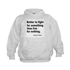 Fight for Something (Front) Hoodie